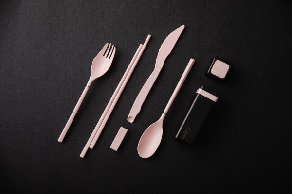 S+Cutlery 環保歐應餐具 櫻粉